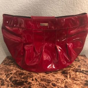 Miche Red Purse with Interchangeable Handles